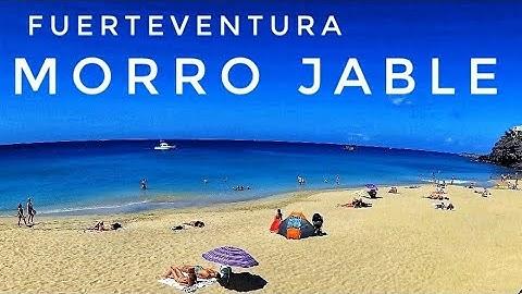 Fuerteventura Morro Jable Yi 4K, Jandia 2019, Beach walk