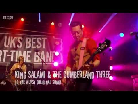 """King Salami & the Cumberland 3 """"Do the Wurst"""" at Scala, London (BBC show """"UK's Best Part-time Band"""")"""