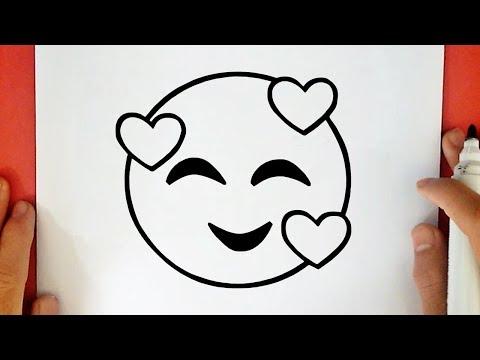 Comment Dessiner Un Emoji Qui Pleure De Rire Youtube