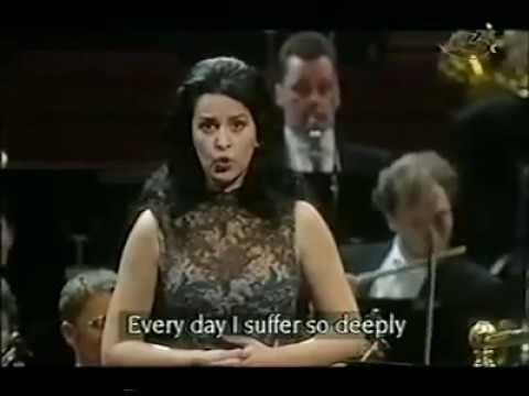 Angela Gheorghiu as Leonora (La forza del destino): Pace, pace mio Dio!