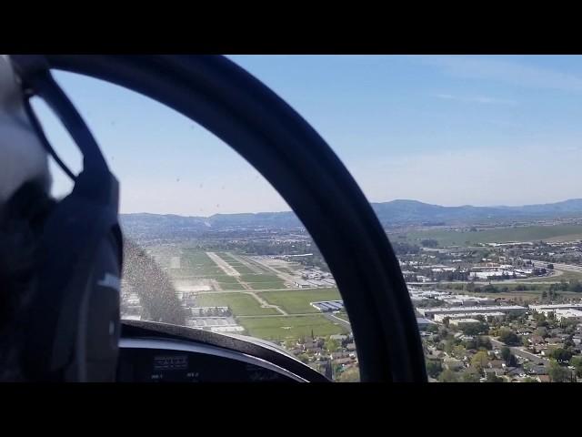 Matt Dralle's RV-8 Landing at Livermore Muni (KLVK) on 2020.04.15