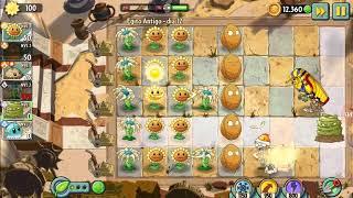 Plants vs Zombies 2 Dia 12 (Egito Antigo)