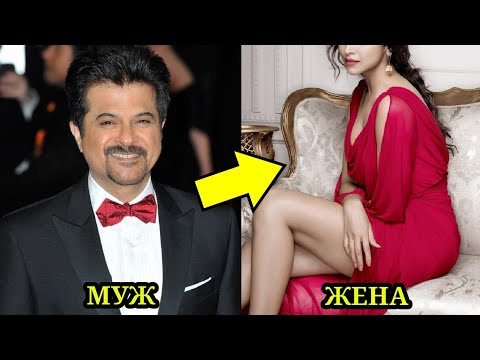 Популярные индийские актеры и их красивые жёны.