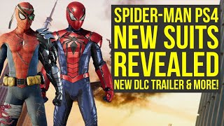 Spider Man PS4 DLC Suits REVEALED, Silver Lining DLC Trailer & More (Spiderman PS4 New Suit)