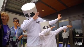 Download Marshmello Supports Special Olympics 2018 Mp3 and Videos