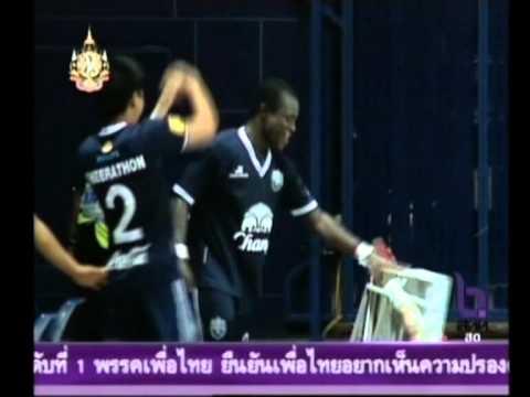Frank Opoku Acheampong Goal chiangrai united 5 0