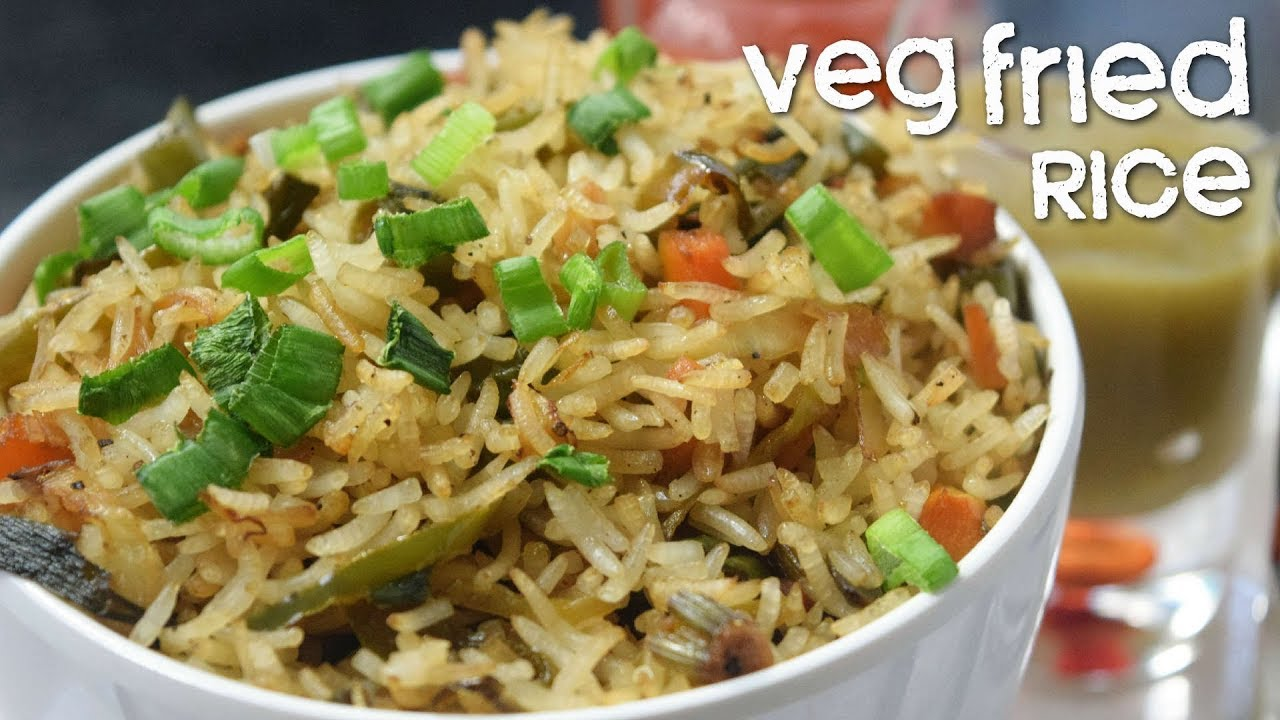 Veg fried rice how to make easy fried rice quick vegetable fried veg fried rice how to make easy fried rice quick vegetable fried rice gifr ccuart Images