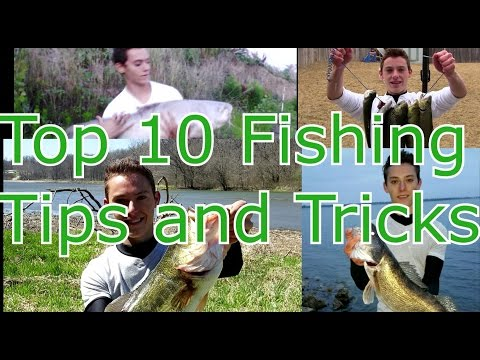 Top 10 - Fishing Tips, Tricks, Hacks, and Techniques for Beginners
