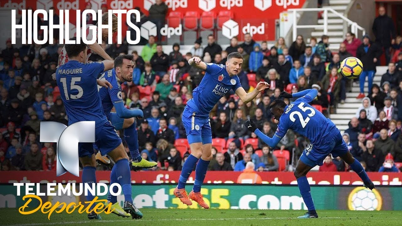 Highlights Stoke City 2 Leicester City 2 Premier