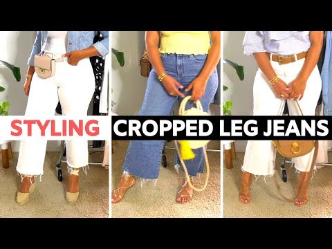 How To Style Cropped Leg Jeans For Curvy Girls. http://bit.ly/2zwnQ1x