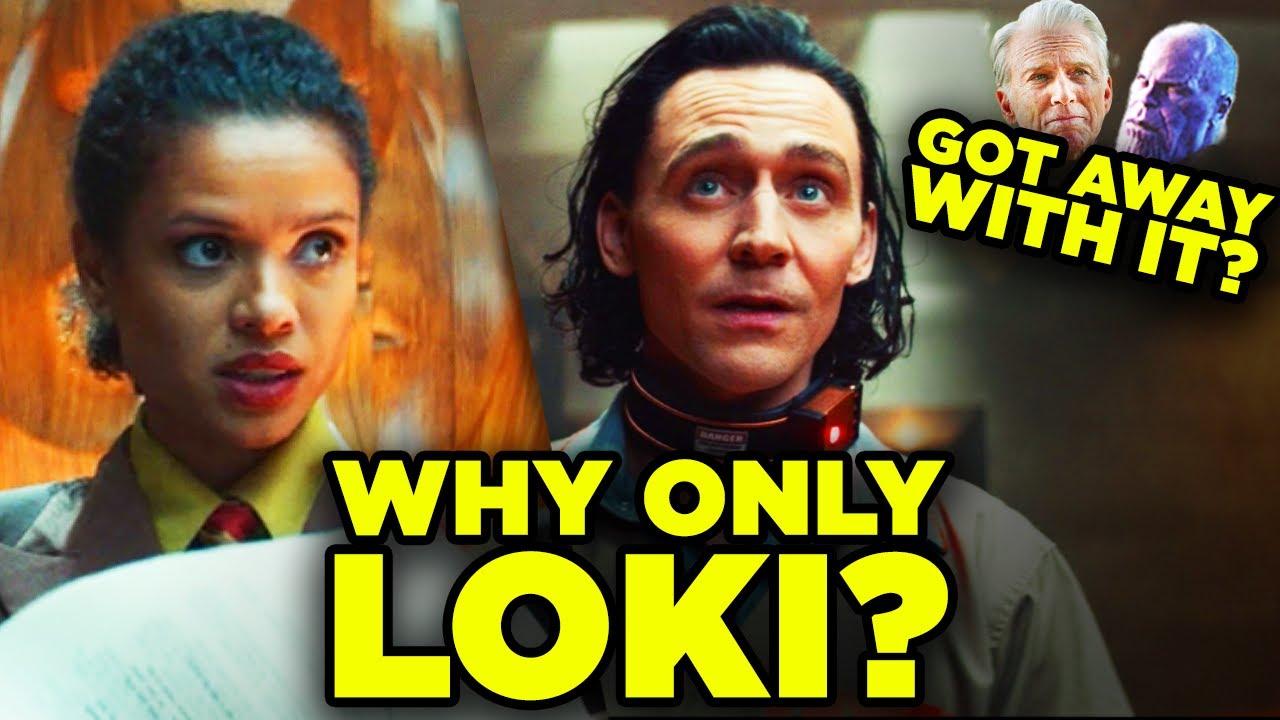 LOKI: TVA Double Standard: Why Loki & Not Avengers or Thanos?
