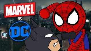 ROBLOX: MARVEL VS DC ? Marvel & Dc: Dawn Of Heroes