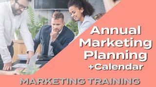 How To Plan 2018 Marketing - Free Template Marketing Planning Calendar
