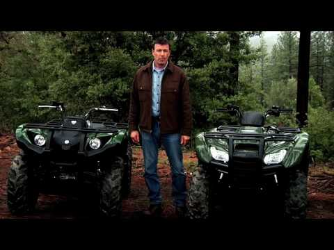 The Yamaha Grizzly 450 EPS versus Honda Rancher