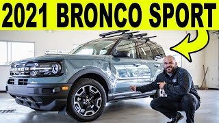 2021 Ford Bronco Sport - EVERYTHING You Need to Know (FULL WALKAROUND)