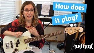 Fender Mustang PJ Bass Demo!