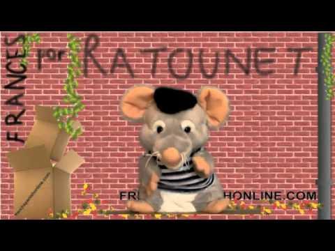 Aprendra Francés con Ratounet el Maestro de Francés Basico