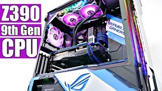 The ULTIMATE Z390 9th Gen Phanteks Evolv X Custom Gaming PC Build - Time Lapse thumbnail