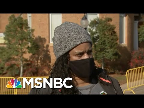 All Eyes On Georgia: Priscilla Thompson Speaks With Cobb County Voters | Ayman Mohyeldin | MSNBC