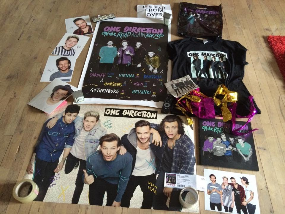 One Direction On The Road Again Tour Merch YouTube
