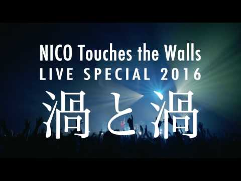 """NICO Touches the Walls LIVE SPECIAL 2016 """"渦と渦 ~西の渦~""""ダイジェスト映像"""