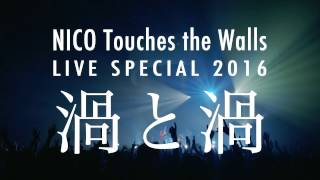 "NICO Touches the Walls LIVE SPECIAL 2016 ""渦と渦 ~西の渦~""ダイジェスト映像"