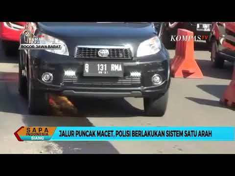 Jalur Puncak Macet, Polisi Berlakukan Sistem Satu Arah Mp3