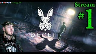 Deceit 🧟☠️Free Game🤮👹Join Me💉 All DLC💸PC💻Max✨#1st Stream🎋