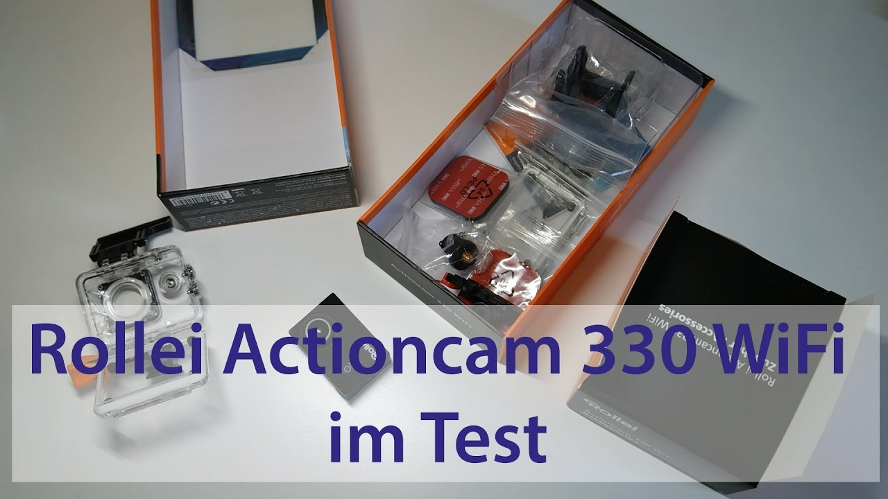 rollei actioncam 330 wifi test youtube. Black Bedroom Furniture Sets. Home Design Ideas