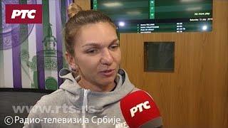 Simona Halep za RTS: Bilo bi sjajno da ovaj deo Evrome ima dva šampiona Vimbldona