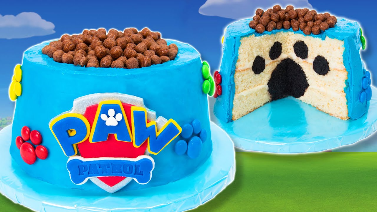 How to Make a Paw Patrol Cake from Cookies Cupcakes and Cardio YouTube