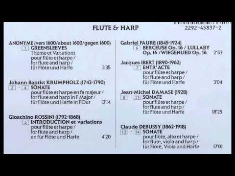 Flute et Harpe (Jean-Pierre Rampal - Lily Laskine)