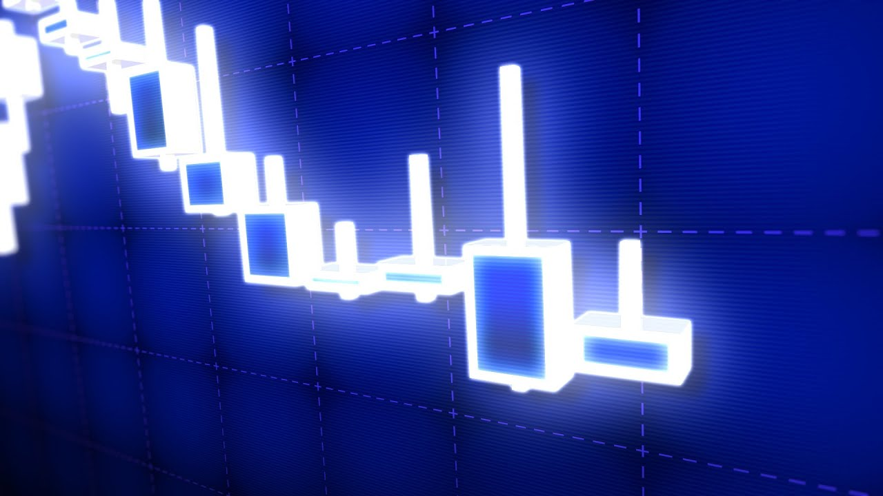 3d Candle Live Wallpaper 3d Stock Market Candlestick Trading Chart Youtube