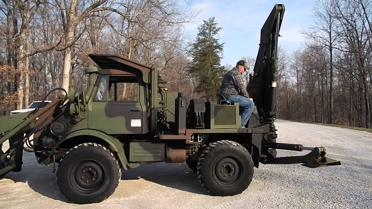 Unimog SEE FL419 Up for sale C&C Equipment 812 336 2894 04