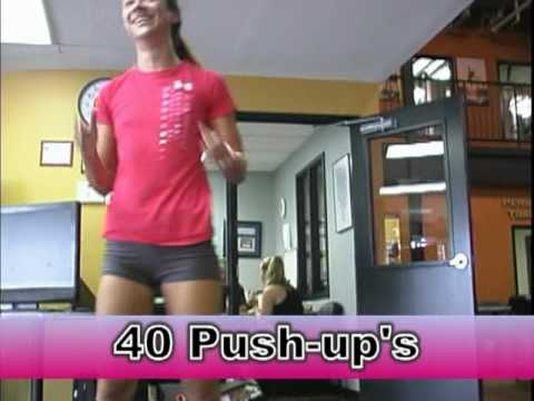 Push & Pull for Pink - Golds Gym & Maryland Fashion Week