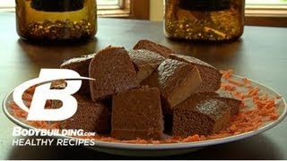 Healthy Recipes: Carrot Cake Protein Bars