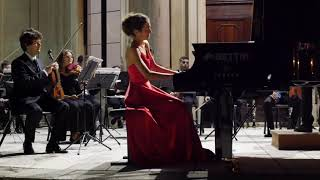 Beethoven Piano Concerto No. 3 in C minor Op. 37 - 2nd mov.  Sarah Giannetti, Pietro Semenzato  VCO