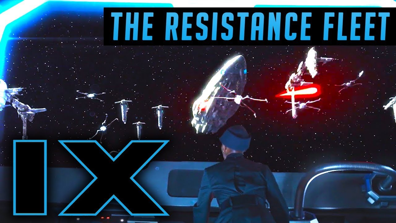 The Resistance Fleet In Episode 9 Star Wars Speculation Youtube