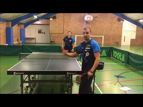 Forehand Middle, Switch wide to Forehand or Backhand - eBaTT exercise P1,  May '18