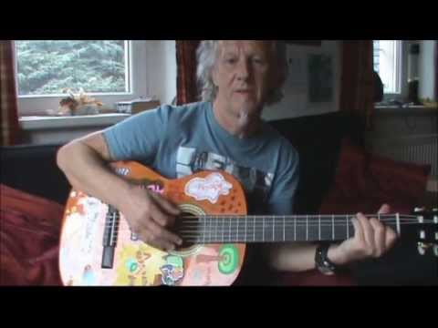 Angie: guitar lesson for beginners