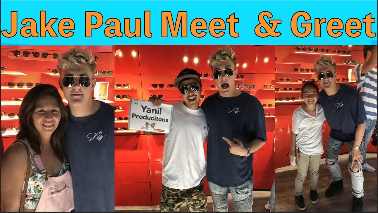 Jake Paul Meet And Greet Youtube
