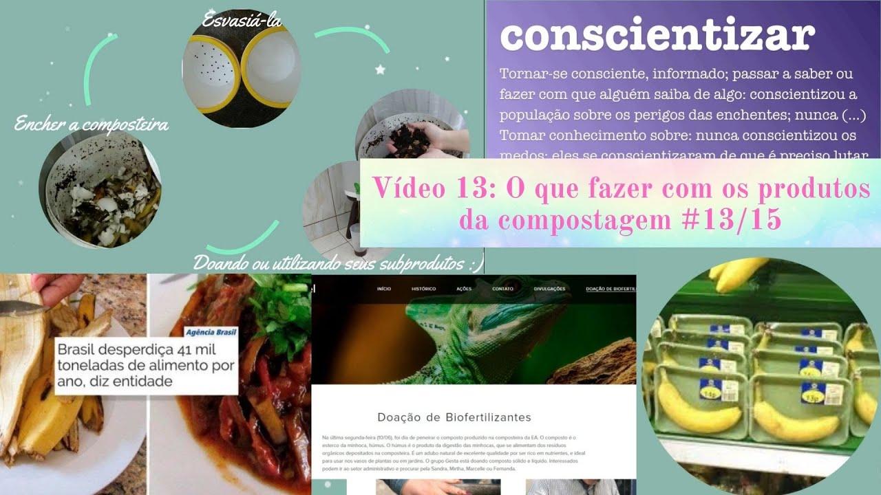 O que fazer com os produtos da compostagem - Série Compostagem do Zero #13/15