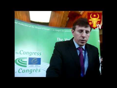Neo-Dacii TV: Strasbourg,interview cu primarul General Dorin Chirtoaca