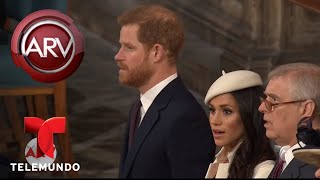 Primer acto oficial de Meghan Markle con la Reina Isabel | Al Rojo Vivo | Telemundo