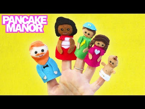 FINGER FAMILY SONG ♫ | Nursery Rhyme | Kids Songs | Pancake Manor