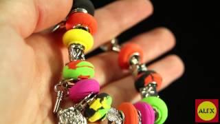 Alex Toys' I Heart Charm Bracelets Craft Kit (736L)