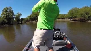 GoPro Bass Fishing Edit on the Ouachita River