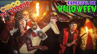 Maskarin y Dinosaurio entran al Circo del Horror - Especial de Halloween / Manito y Maskarin