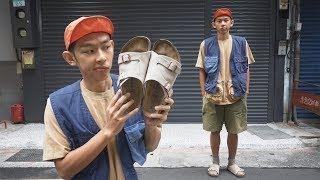 """【一週穿搭】 夏天不穿球鞋,拖鞋也能 """"拖"""" 出一片天"""