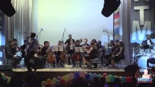 """Студенческий эстрадно-симфонический оркестр: песня """" Я люблю Буги-вуги""""из к/ф """"Стиляги"""""""